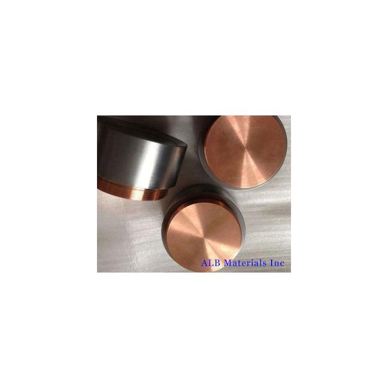 Chromium Copper (Cr-Cu) Alloy Sputtering Targets