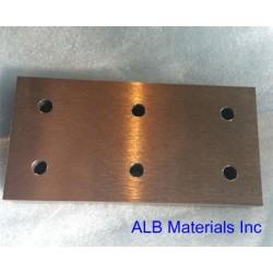 High Density Tungsten Alloy (WNiCu) Sheets