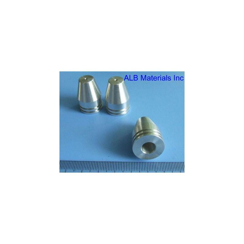 Rhenium (Re) Machined Part