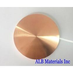 Copper Cobalt (Cu-Co) Alloy Sputtering Targets