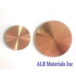 Copper Chrome (Cu-Cr) Alloy Sputtering Targets