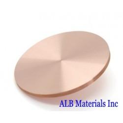 Copper Germanium (Cu-Ge) Alloy Sputtering Targets