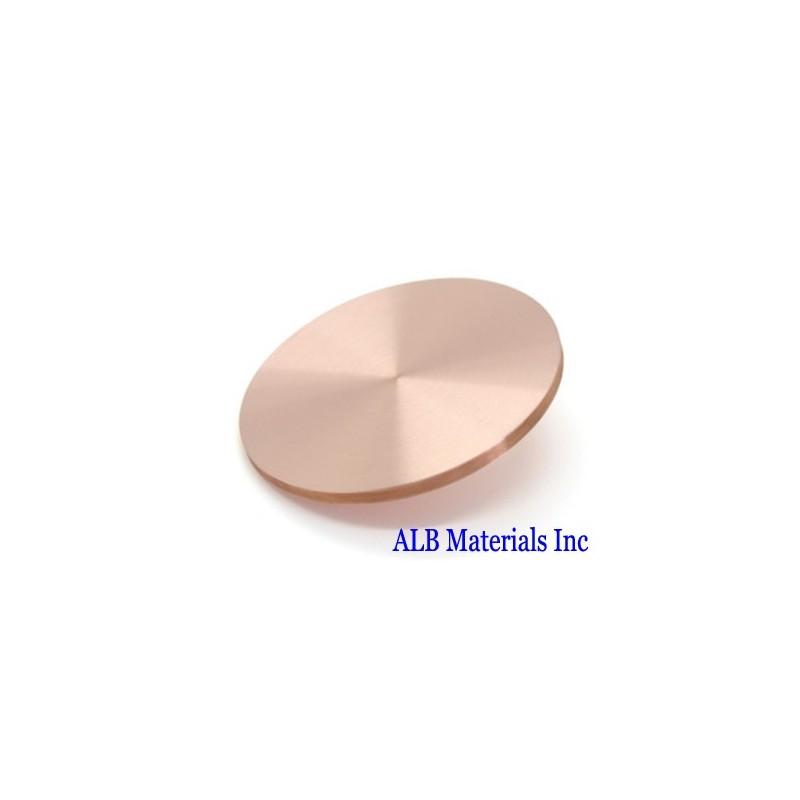 Titanium Copper Alloy (Cu-Ti) Sputtering Targets