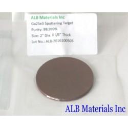Gallium Selenide (Ga2Se3) Sputtering Targets