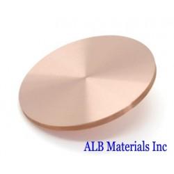 Nickel Copper (Ni-Cu) Alloy Sputtering Targets