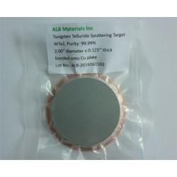 Tungsten Telluride (WTe2) Sputtering Targets