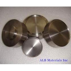 Zirconium Tungsten (Zr-W) Alloy Sputtering Targets
