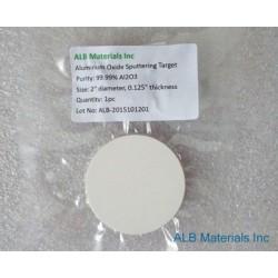 Aluminum Oxide (Al2O3) Sputtering Targets